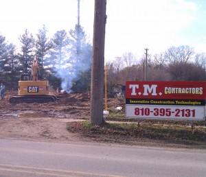 Building contractor-general contractor-project management-excavating