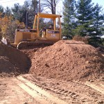 Excavating-grading-equipment-building contractor