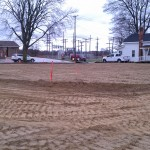 Excavating-grading-pole barn-site development-compaction