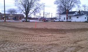 Excavating-grading-pole barn-site development-compaction