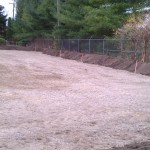 Excavating-grading-site development-parking lot-