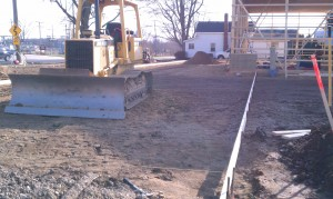 Grading-excavating-building contractor-concrete