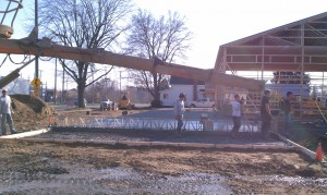 Concrete-building contractor-equipment-excavation
