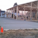 Concrete-pole barn-building contractor-excavation