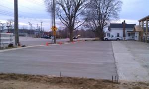 Concrete-Parking lot-building contractor