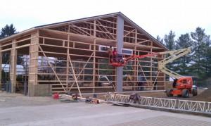 Metal siding-metal building-pole barn