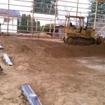 Excavating-concrete-grading-pole barn