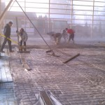 Concrete-flatwork-construction-pole barn