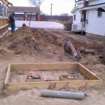 Pole barn-excavation-concrete-forming