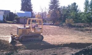 Excavation-grading-compaction-site development
