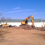 Site development-excavating-grading-equipment