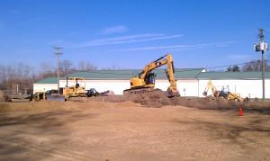 Site development-excavating-grading-equipment