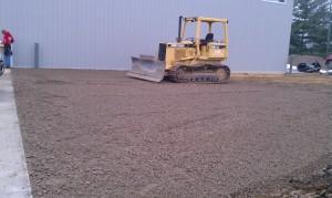 Grading-Excavating-pole barn-driveway