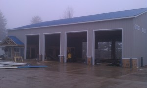Building contractor-steel building-pole barn-concrete
