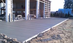 Concrete-pad-poured-excavation