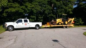 Excavating-trucking-equipment