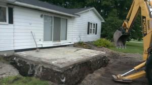 Excavation-demolition-concrete