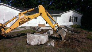 Excavation-concrete-foundation