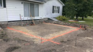 Builder-foundation-layout-sitework