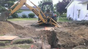 Excavating-trenching-foundation