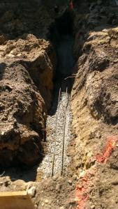Excavation-trench-foundation-concrete