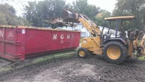 Excavation, Demolition