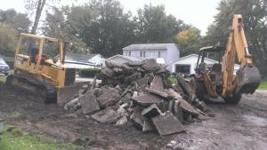 Excavating, Demolition, Site development