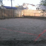 Building contractor, concrete foundation