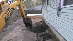 Demolition, excavating, building contractor