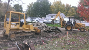Demolition, excavating, building contractor