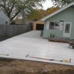 Building contractor, excavating, concrete