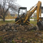 Building contractor, excavating, demolition