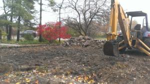 Building contractor, excavating, grading